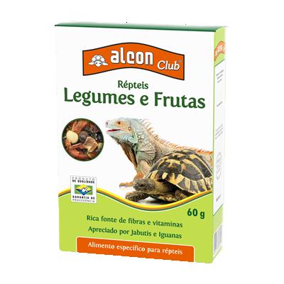 alcon club répteis legumes e frutas