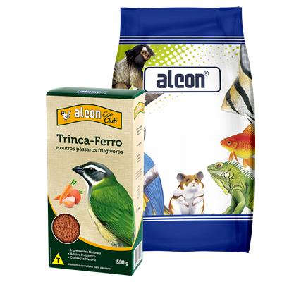 alcon eco club trinca-ferro e outros pássaros frugívoros