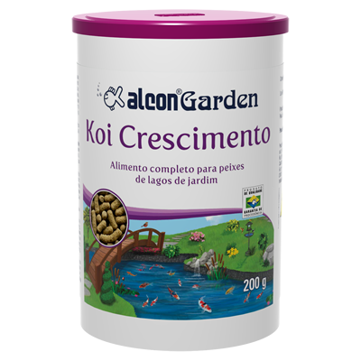 alcon garden koi crescimento