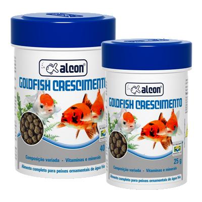 alcon goldfish crescimento