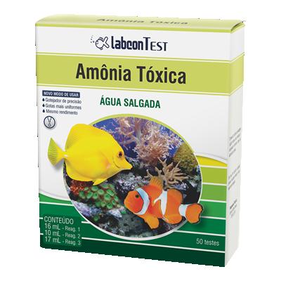 labcon test amônia tóxica Água salgada