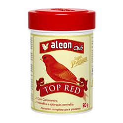 alcon club top red