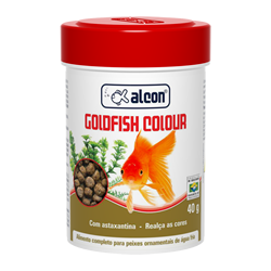 alcon goldfish colour